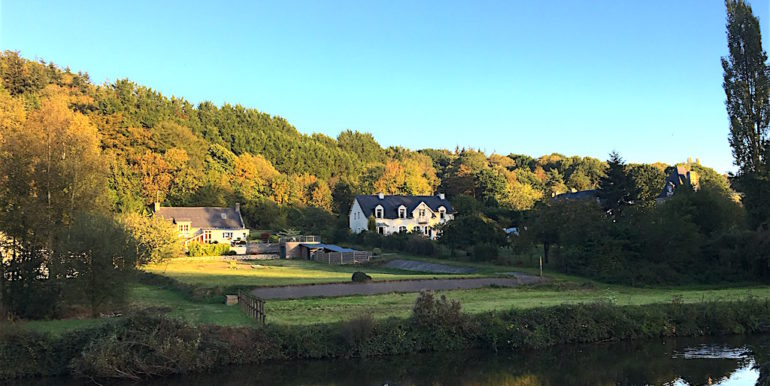 View of the river rance from the property