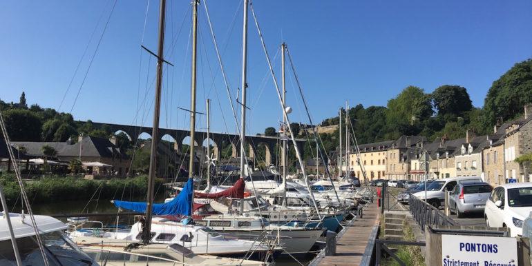 Dinan Port 15 min walk from Quai du Val