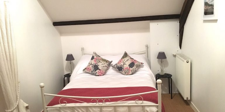 The triple bedroom (double bed and single)
